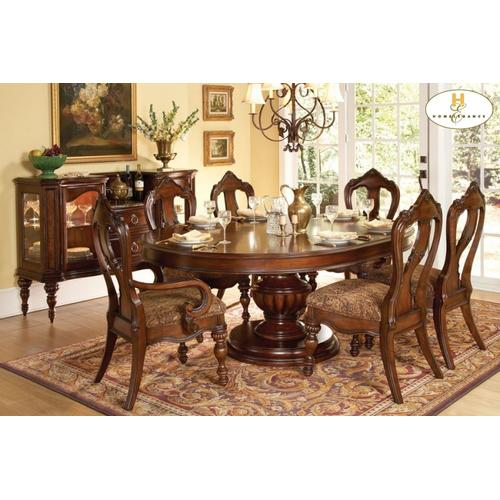 Homelegance - 5PC SET (Table with 4 Side Chairs)