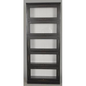 "#522-5 Lawyer Bookcase 5 Piece 33""wx14""dx79""h"