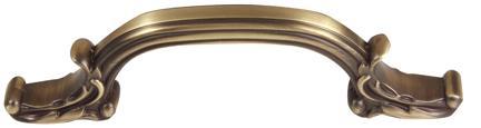 Ornate Pull A3650-4 - Antique English Matte