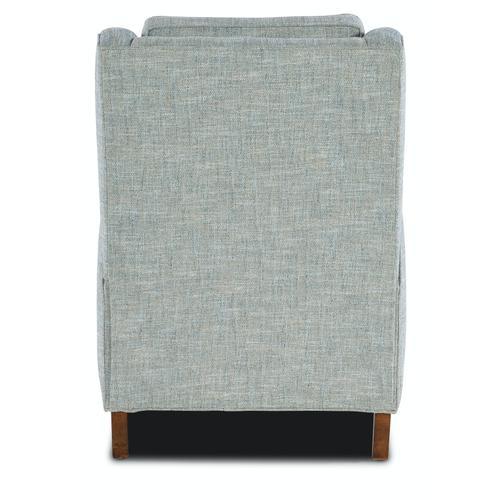 Sam Moore Furniture - Living Room Dekker Recliner Solid Back - Manual