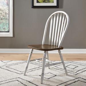 5 Piece Pedestal Table Set- White