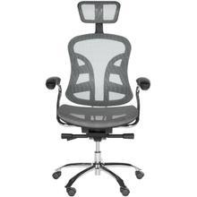 See Details - Jarlan Desk Chair - Grey