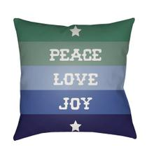 "Peace Love Joy HDY-078 18""H x 18""W"