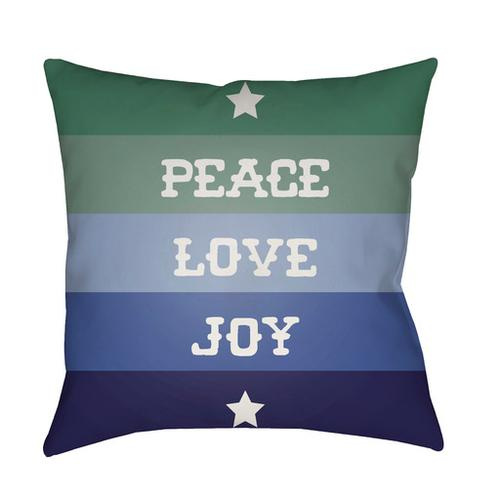 "Peace Love Joy HDY-078 20""H x 20""W"
