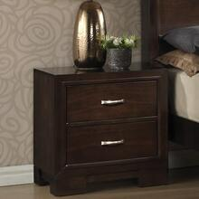 Montana Modern Wood Night Stand Walnut Finish