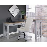 Osborne - Upholstered Desk Chair - Gray Skies Finish Product Image