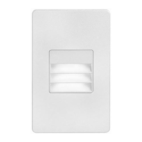 White Rectangle In/outdoor 3w LED Wal
