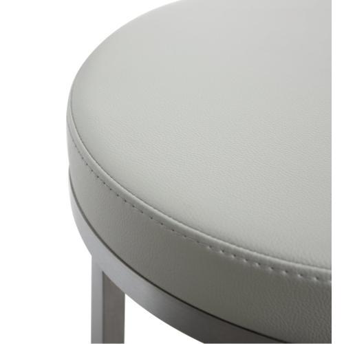 Tov Furniture - Pratt Grey Steel Counter Stool (Set of 2)