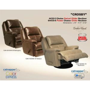 "Catnapper - Chaise ""Swivel"" Glider Recl"