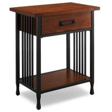 See Details - Night Stand with Drawer - Ironcraft Collection #11222