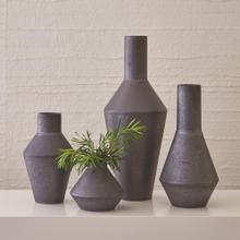 Shaker Vase-Graphite-Lg