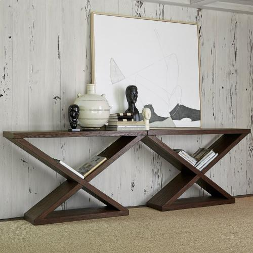 Salone Scuro Double-V Console Table