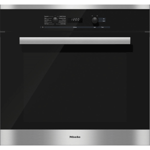 MieleH 6281 BP - 30 Inch Convection Oven with Self Clean for easy cleaning.