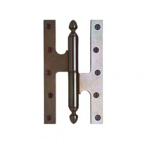 "Paumelle Hinge - 5"" Silicon Bronze Brushed Product Image"