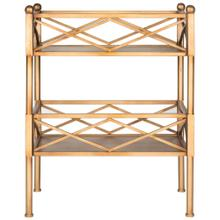 Jamese Storage Shelves - Gold