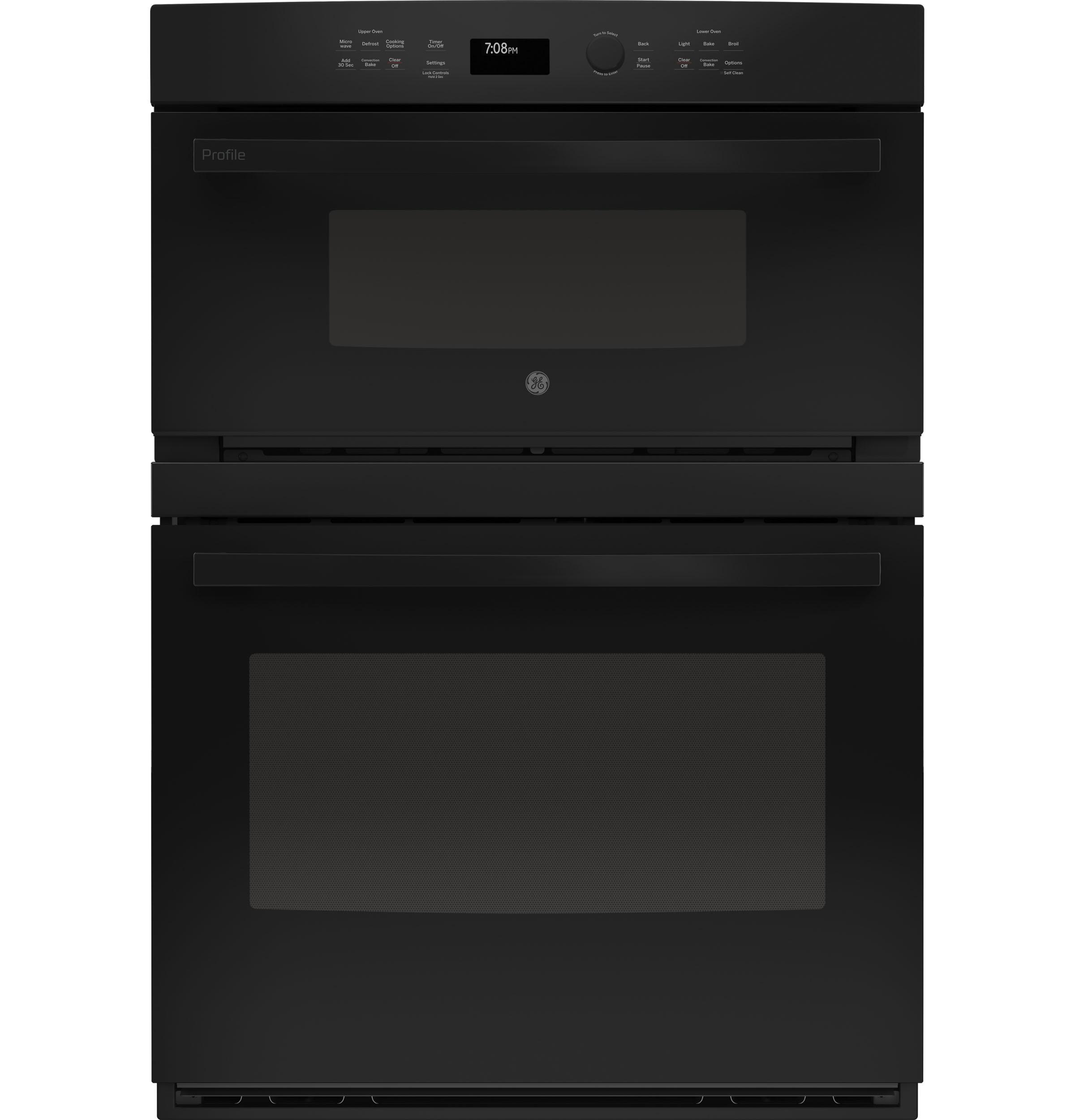 """GE Profile30"""" Built-In Combination Convection Microwave/convection Wall Oven"""