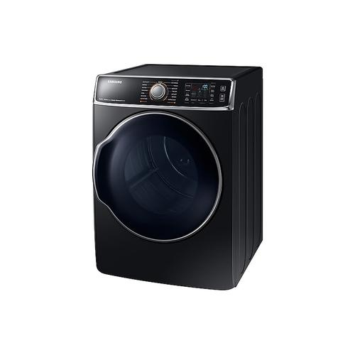 9.5 cu. ft. Gas Dryer in Black Stainless Steel