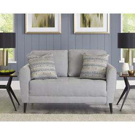 Cardello Loveseat Steel