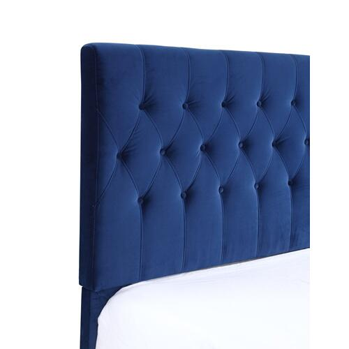 Emerald Home Amelia Upholstered Bed Kit King Navy B128-12hbfbr-34