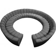 """See Details - Infinity Modular 12pc. Sectional - 183"""" W x 181"""" D x 33"""" H"""