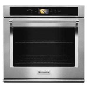 "Smart Oven+ 30"" Single Oven with Powered Attachments - Stainless Steel Product Image"
