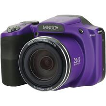 20.0-Megapixel 1080p Full HD Wi-Fi® MN35Z Bridge Camera with 35x Zoom (Purple)