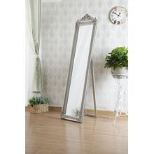 See Details - 7055 SILVER Full Length Standing Crown Mirror