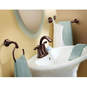 "Eva oil rubbed bronze 18"" towel bar"