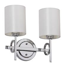 Ventura Double Light Sconce - Chrome