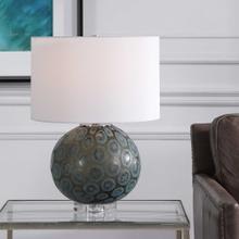 Agate Slice Table Lamp