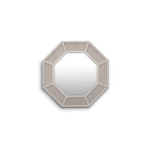 Sheraton Diamond Rattan Mirror