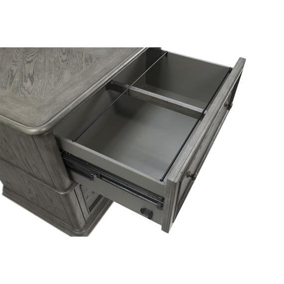 Riverside - Sloane - Lateral File Cabinet - Gray Wash Finish