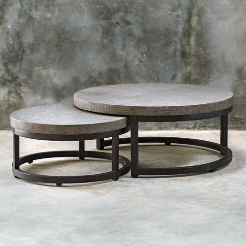 Aiyara Nesting Coffee Table, S/2