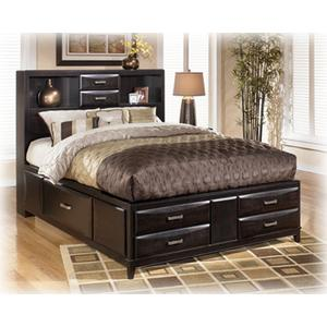 Kira - Almost Black 3 Piece Bed (King)