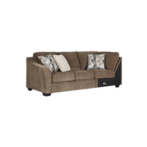 Benchcraft - Graftin Left-arm Facing Sofa With Corner Wedge