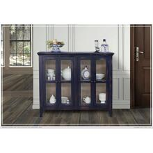 Console w/ 4 Glass Doors - Talavera finish