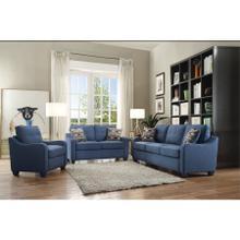 See Details - Loveseat fix blue (D1012-15) 53790
