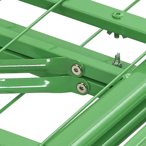 Modway - Horizon Twin Stainless Steel Bed Frame in Green