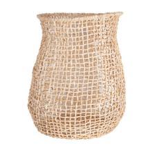 Paloma Abaca Basket, Natural