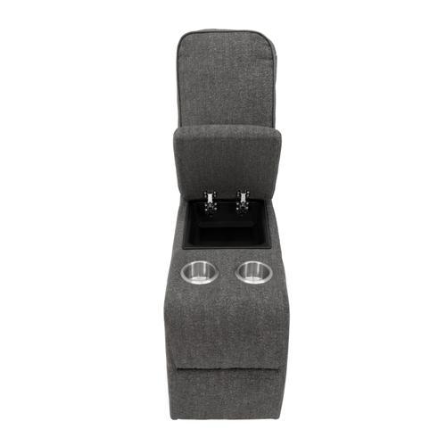 Alberta Modular Console, Charcoal Gray U8040-17-05