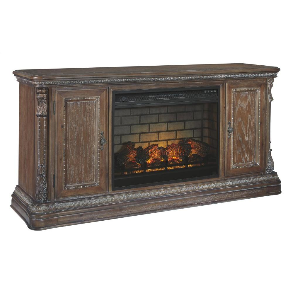 """Charmond 69"""" TV Stand With Electric Fireplace"""