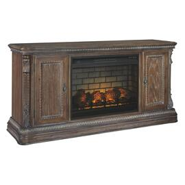 "Charmond 69"" TV Stand With Electric Fireplace"