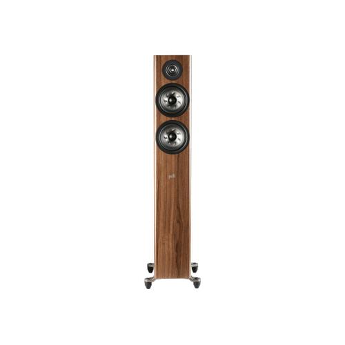COMPACT FLOORSTANDING LOUDSPEAKER in Walnut