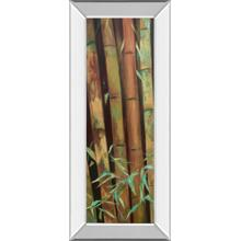 """Bamboo Finale I"" By Suzanne Wilkins Mirror Framed Print Wall Art"
