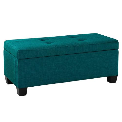 Ethan 3PK Storage Ottoman in Teal