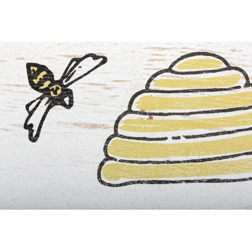 Honey Bee Wall Decor - Ast 4