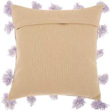 "Life Styles Dp005 Lavender 18"" X 18"" Throw Pillow"