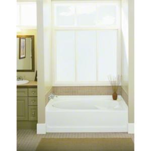 "Ensemble™ 36, Series 7110, 60"" x 36"" Bath - Left-hand Drain, 3-Pack - White Product Image"