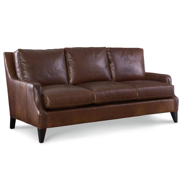 See Details - Leather Apartment Sofa