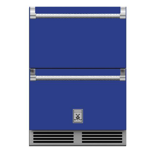 "24"" Hestan Outdoor Refrigerator Drawers - GRR Series - Prince"